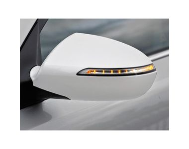 Speedwav Mirror Covers With Indicator Set Of 2 WHITE
