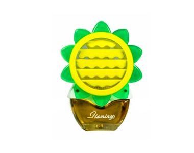 Beautiful Feel Fresh Sun Flower Refillable Lemon Perfume for AC Vents
