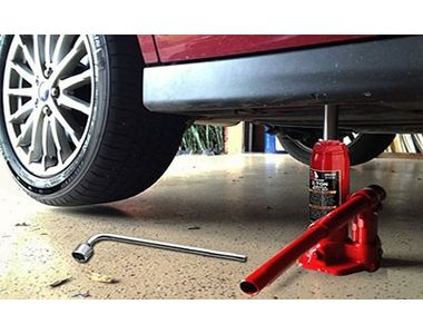 Speedwav Hydraulic Bottle shaped Jack+L-Shaped Spanner