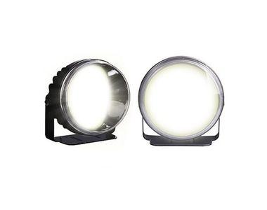 Speedwav YCL COB LED 3.5 Inches Bike Aux Lights Set Of 2