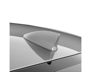 Speedwav Decorative Fin Shaped Car Antenna - Silver