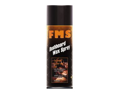 FMS Car Dashboard Wax Spray for Leather Seat / Dashboard /Plastic / Rubber / Tyres 450ml
