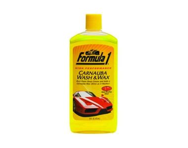 Formula 1 Car Shampoo and Wax Shampoo Small Size 236ml
