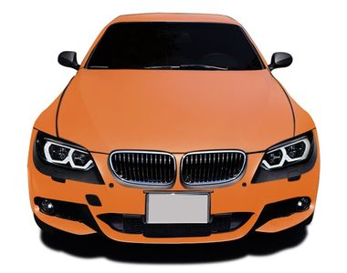 Speedwav Car Wrap Sheet Matt Orange