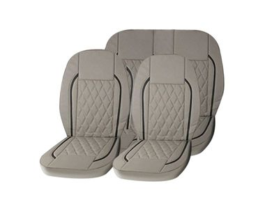 Speedwav Beige B2 Leatherette Car Seat Cover