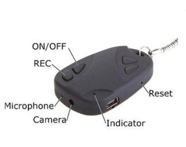 Keychain Spy Cam Camera Video Audio Hidden Recording