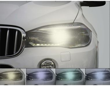 Speedwav 3S H4 All-Weather Color Changeable LED Headlight Bulbs