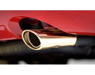 Speedwav G153 Tunnel Oval Car Exhaust Silencer Tip Golden