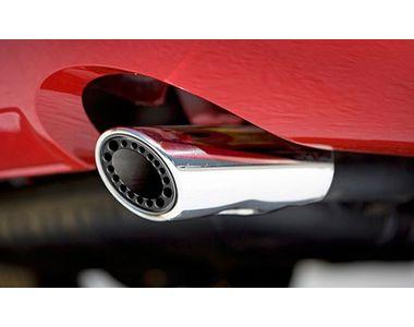 Speedwav A145 Gunner Oval Car Exhaust Silencer Tip Chrome