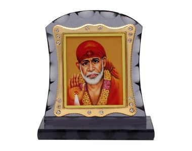 Speedwav M-255 Car Dashboard God Idol-Lord Sai Baba