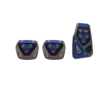 Speedwav RSports Anti Slip Car Pedal Kit Set of 3 Blue