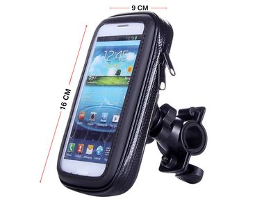 Speedwav Waterproof Bike Mobile Phone Holder Case upto 6.3 Inch Screen