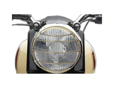 Buy Speedwav Bike Headlight Cover Grill Horizontal Golden