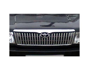 Speedwav Bonnet (Upper) Front Chrome Grill Covers-Toyota Qualis (2000-04)