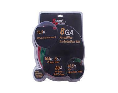 Sound Barrier 8GA Amplifier Wiring Kit SB-100WK