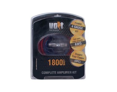 Volt Power 4GA 1800w Amplifier Wiring Kit V4X
