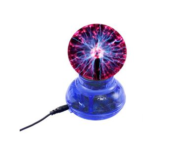 Speedwav Car Plasma Magic Ball Lightning Lamp Globe Blue