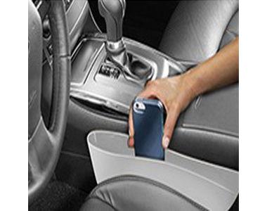 Speedwav Car Seat Caddy Pocket Catcher Grey Set Of 2