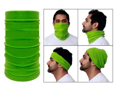Jazzmyride Multifunctional Headwrap / Mask / Scarf-Green