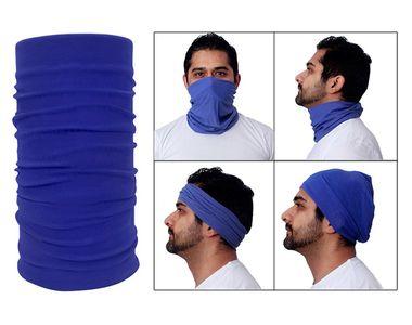 Jazzmyride Multifunctional Headwrap / Mask / Scarf-Navy Blue