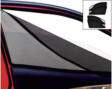 Accedre Magnetic Zipper Curtain Car Sunshades