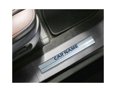 Buy Galio Car Foot Step Sill Plate Set Of 4 Online At Low