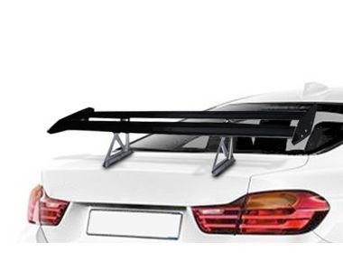 Speedwav Double Wings Black Metal GT Car Sporty Spoiler 136S