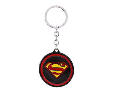 Superman Spin Keychain-Red,Black