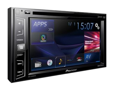 Pioneer AVH-289BT MP3 DVD-R USB CD Monitor RDS Receiver Double-DIN