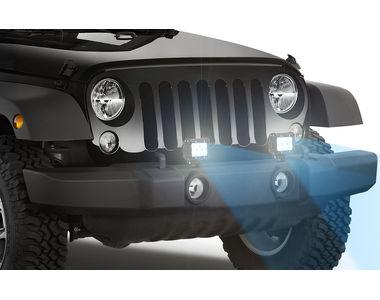 Speedwav Car 6 LED Blue 4 Inch Fog Aux Lights Set of 2
