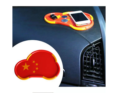 Speedwav Car Shape China Map Non Slip Mat