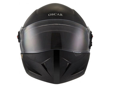 Steelbird Flip-Up Helmet - SB-41 Oscar X Classic - Black