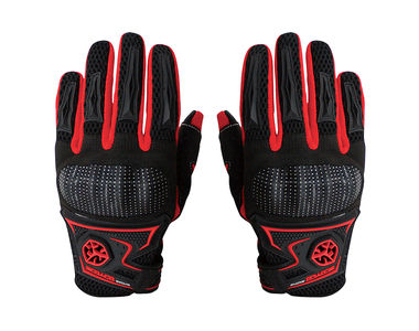 Scoyco MC23 Bike Riding Gloves Set of 2-Black and Red