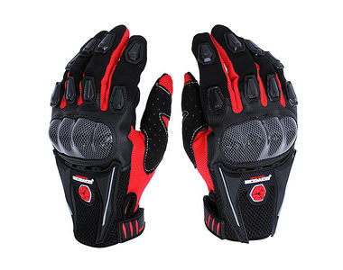 Scoyco MC09 Bike Riding Gloves Set of 2-Black and Red