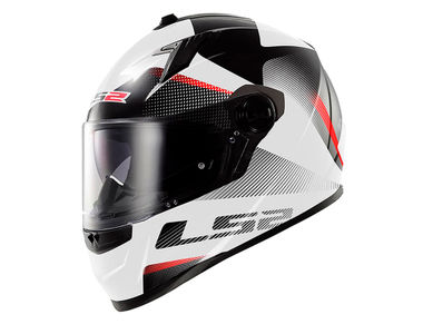 LS2 Helmet FF322-L Concept II Tyrell Red