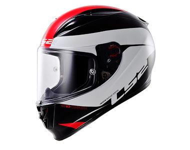 LS2 Helmet FF323-XL Arrow R Comet Black Red