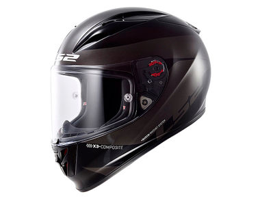 LS2 Helmet FF323-XL Arrow R Comet Black Titanium