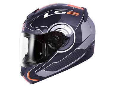 LS2 Helmet FF352-XL Atmos Black Orange