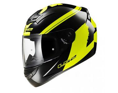 LS2 Helmet FF352-XL Bulky Matt Yellow