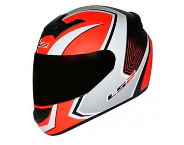 LS2 Helmet FF352-L Corsa Orange Matt