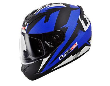 LS2 Helmet FF352-L Dyno Blue