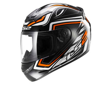 LS2 Helmet FF352-XL Ranger Orange