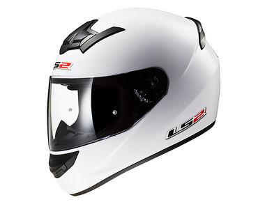 LS2 Helmet FF352-XL Solid Gloss White