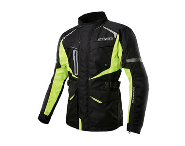 Scoyco JK42 Bike Protective CE Certified Jacket-Black and Green