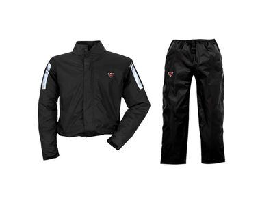 IGNYTE Waterproof Rain Suit Black