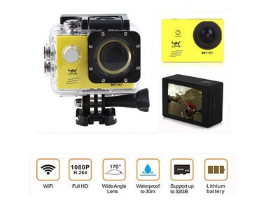 Speedwav 4K UHD DVR 2 Inch LCD Waterproof Action Camera with WiFi