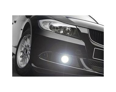Speedwav Car Round 3.5 Inches COB LED DRL White Set of 2