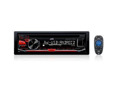 JVC KD-R471 Single Din Car Media Player USB/AUX/WAV/MP3