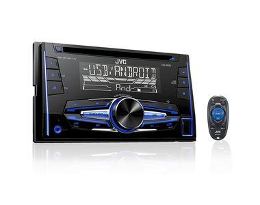 JVC KW-R520 Double DIN Car Media Player USB/AUX/WAV/MP3