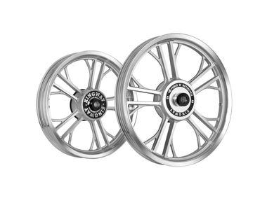 Kingway HRL Y Model Bike Alloy Wheel Set of 2 Silver CNC